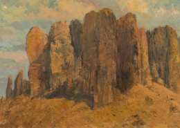 Superstition Mountain 24x36